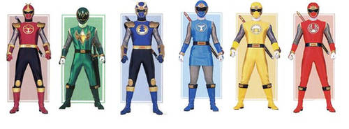 Ninja Storm Power Rangers