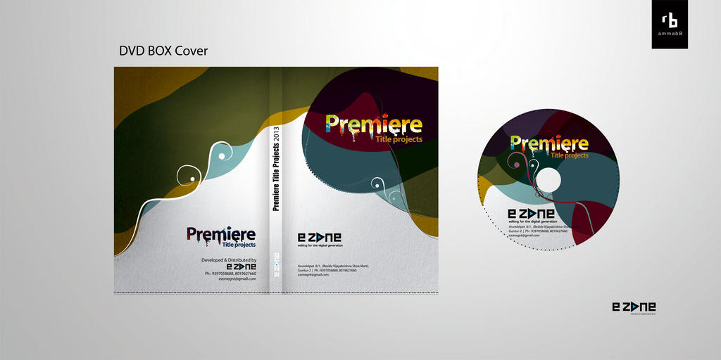 Premiere TITLE Project _ DVD case design by ammab8 on ...