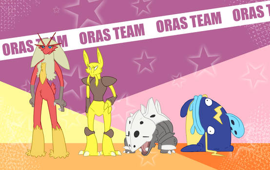 My Omega Ruby Team