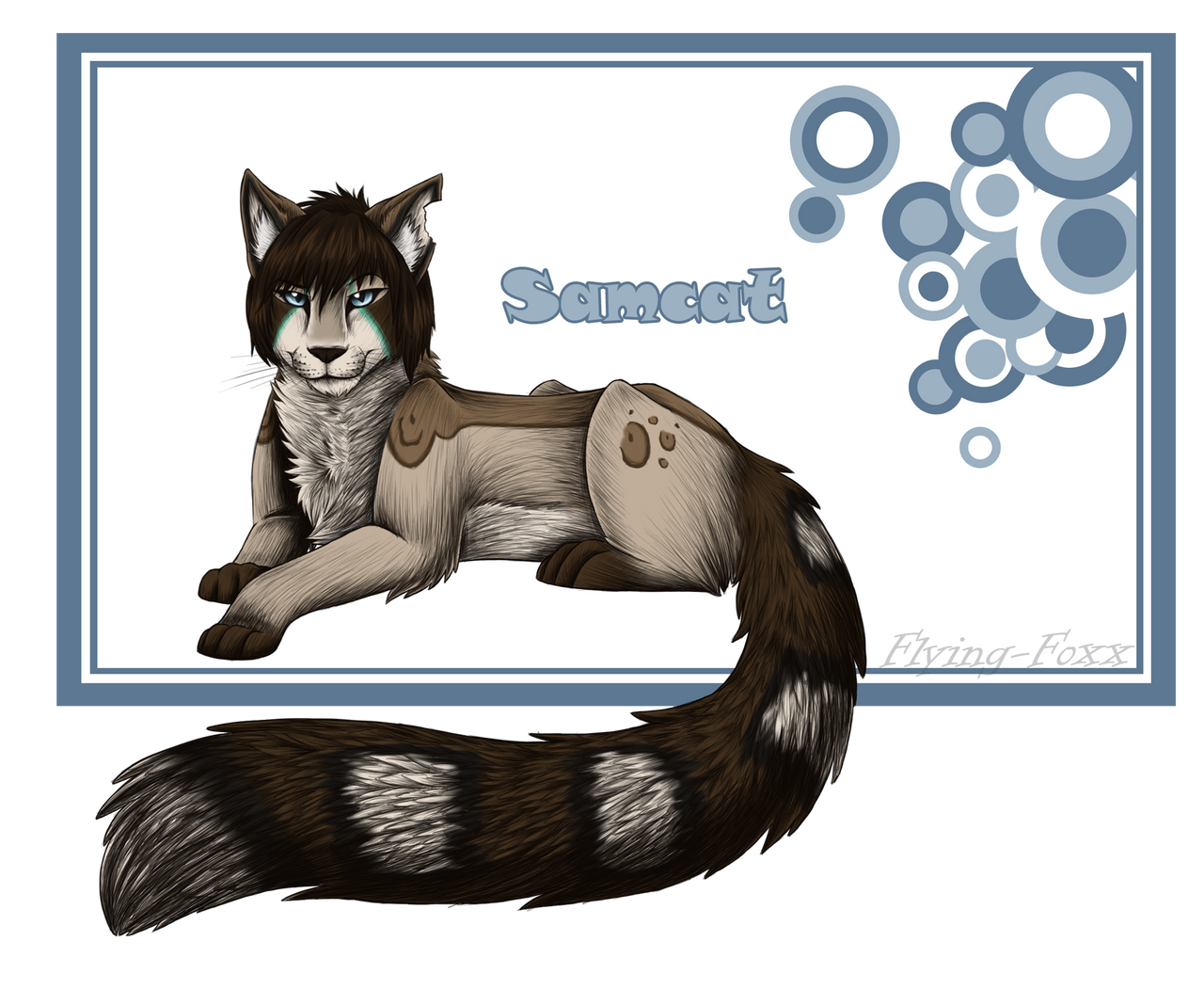 Samcat - Color by Flying-Foxx