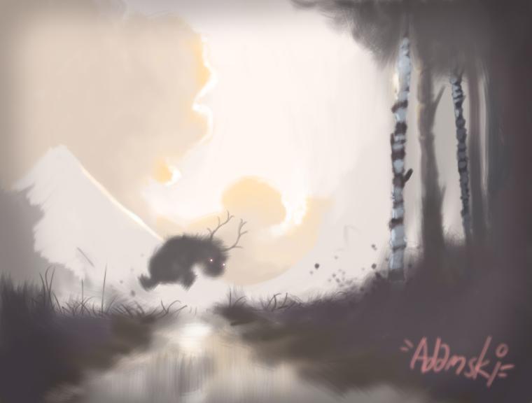 swampy jump by westykid