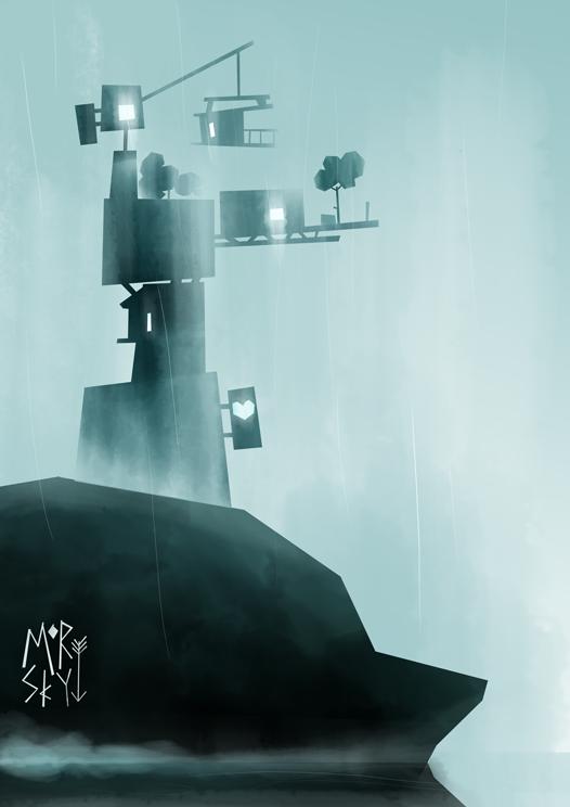 Rainy Isle by westykid