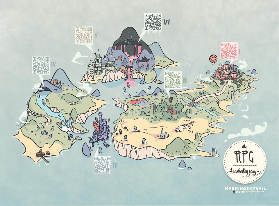 RPG map/album by westykid
