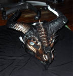 Copper Dragon Mask