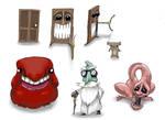horror character design sheet 2