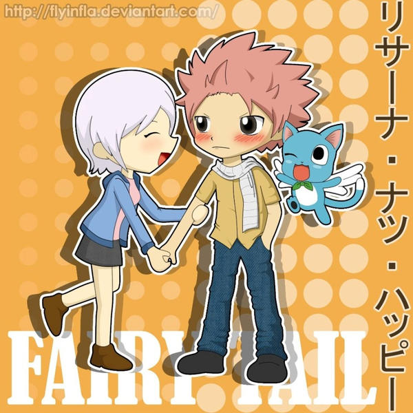 Fairy Tail - Lisanna x Natsu by flyinfLa