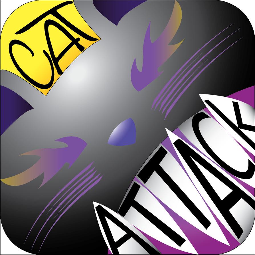 Cat Attack Logo by nizzie12