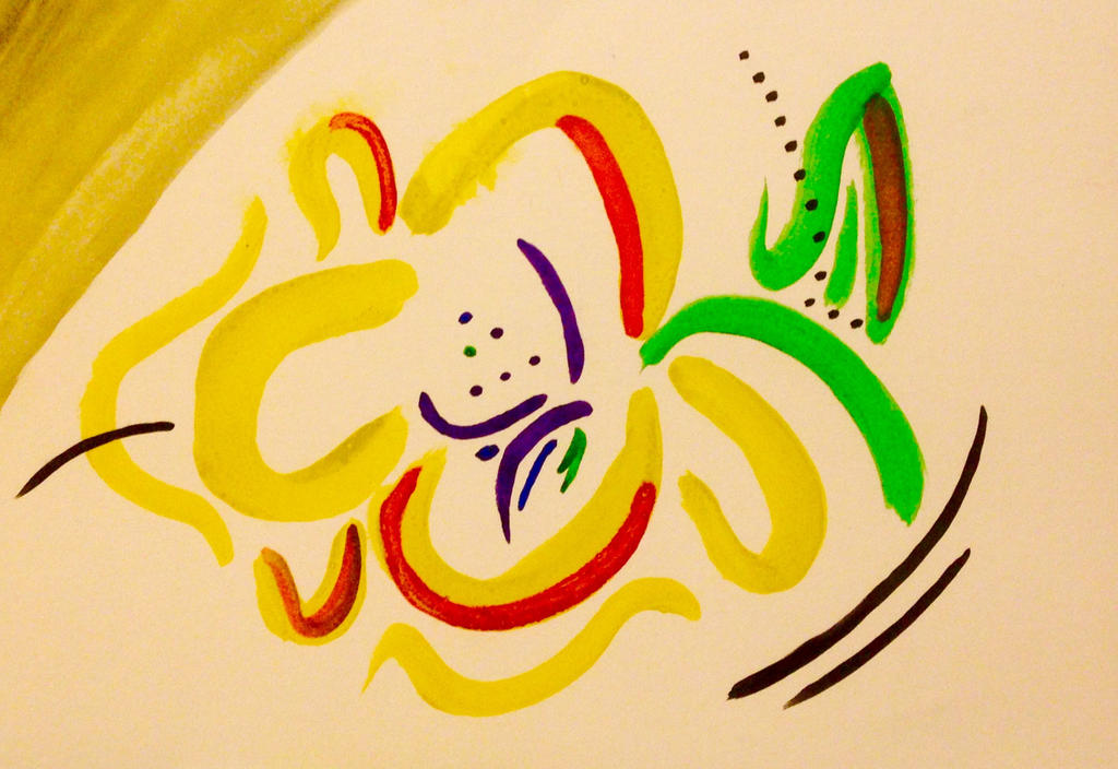 Abstract Flower by nizzie12