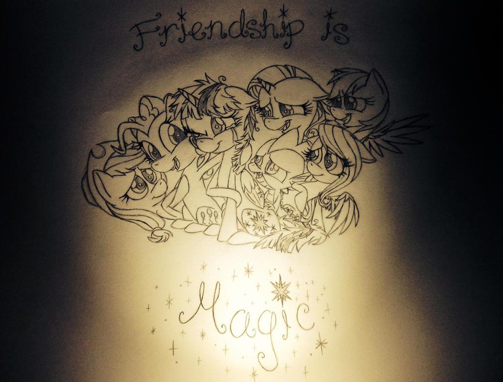 Undeniable Friendship by Amethyst-City on DeviantArt