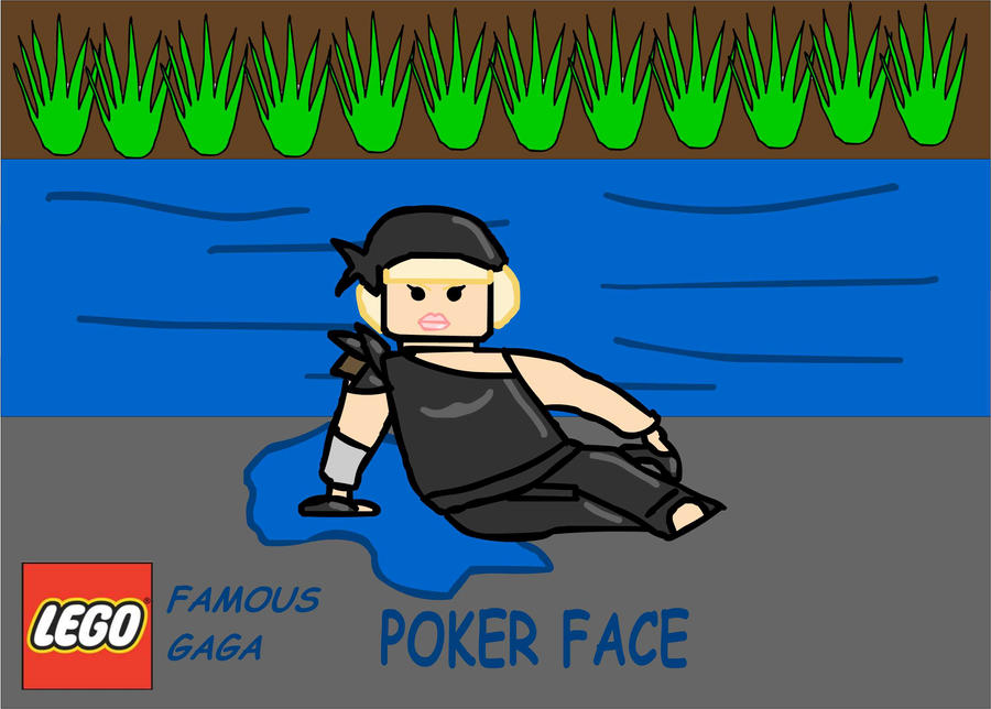 Lego poker face