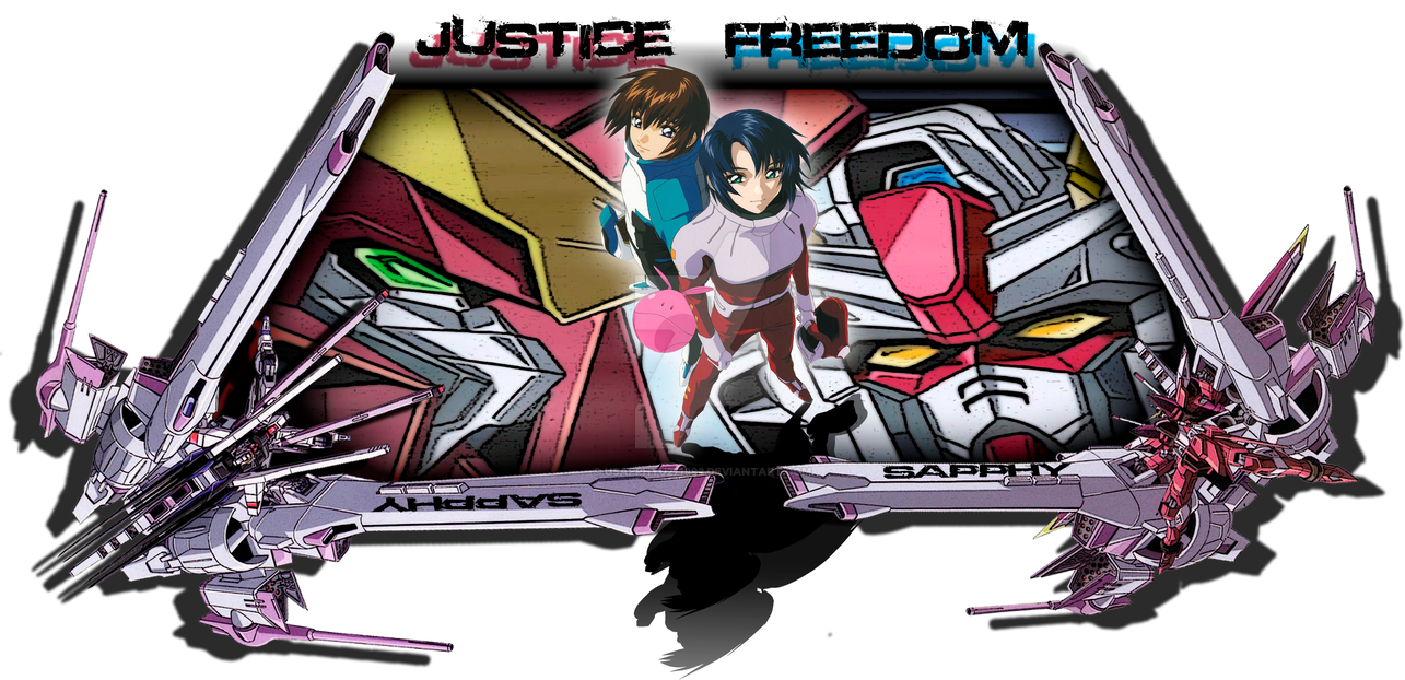 Gundam Seed Firma _ Gundam Seed Signature by USapphyU271992