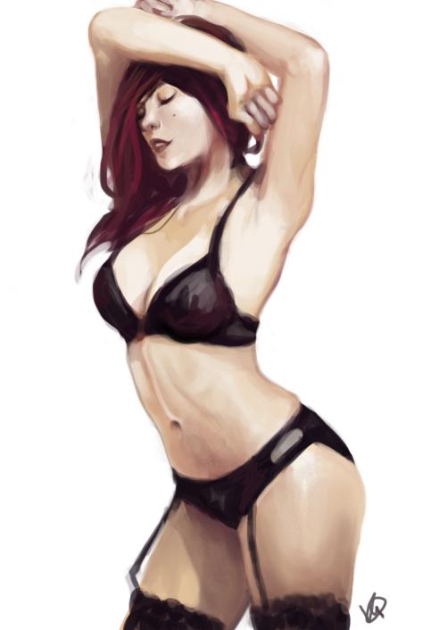 lingerie love by artmunnn