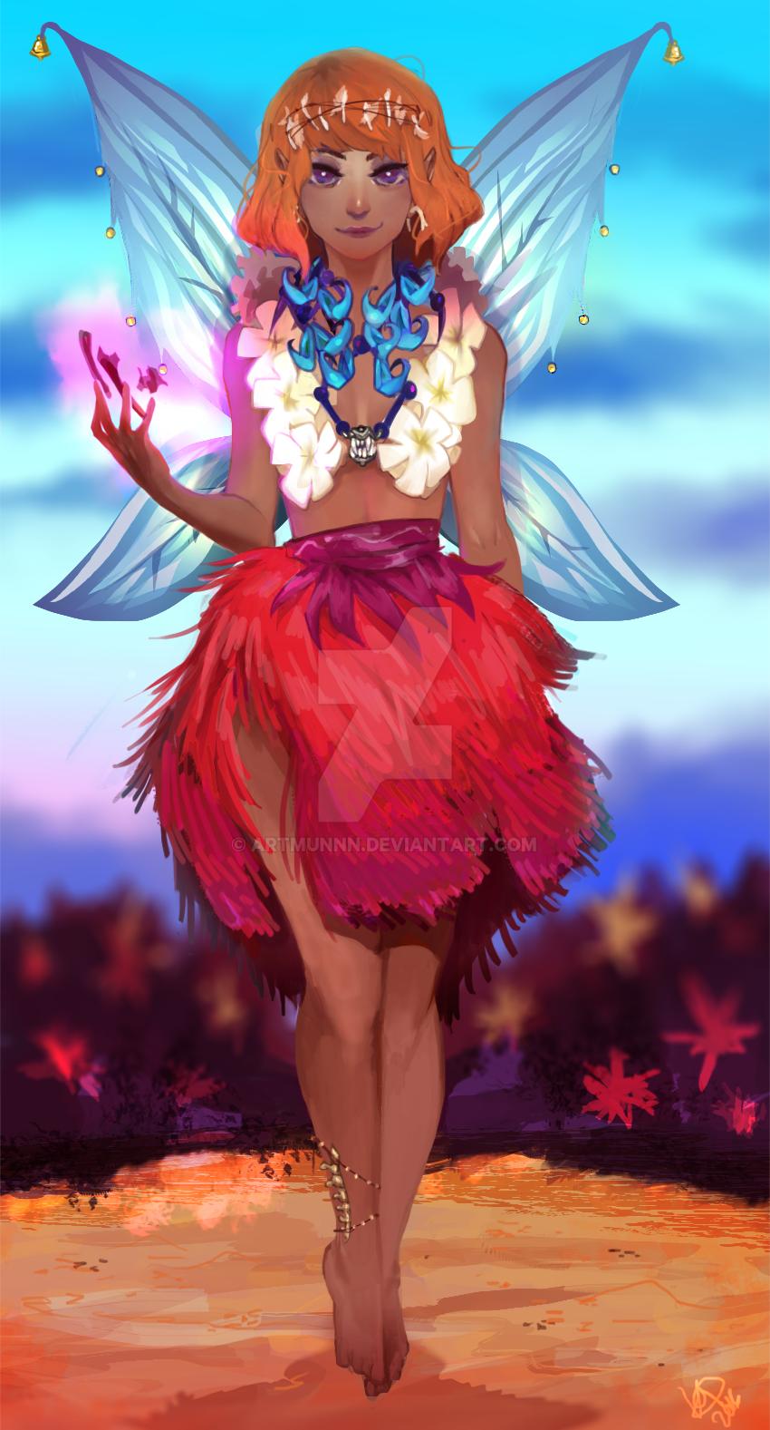 Mimosa by artmunnn