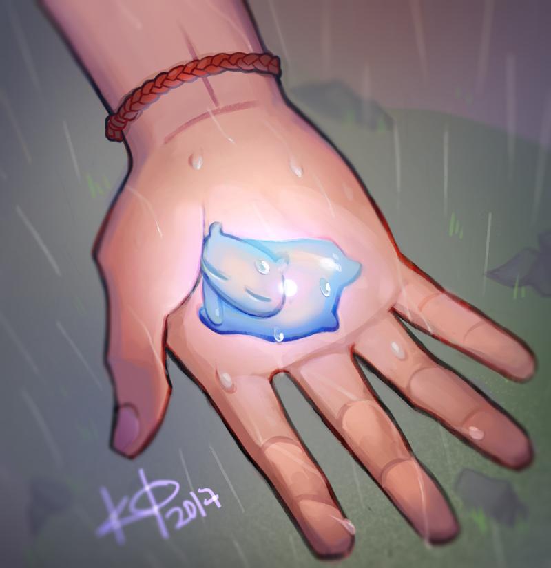 Rain Spirit by artmunnn