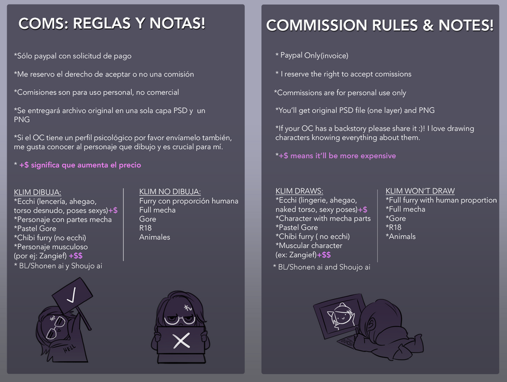 Reglas by artmunnn