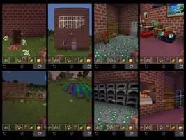 my minecarft house and farm