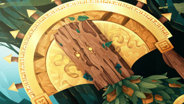 Guard of Ancient Forest, detail 01