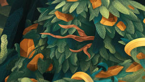 Guard of Ancient Forest, detail 02