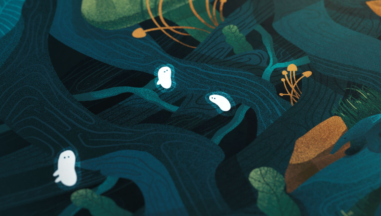 Guard of Ancient Forest, detail 03