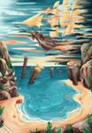 Seashore of the anvil kingdom