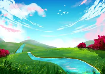 Shizen Ana Background