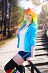 Rainbow Dash Cosplay - Shiny smile