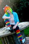 Rainbow Dash Cosplay ~