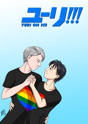 Pride Month: Yuri!!! On Ice by CiociaMrok