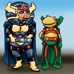 Justice League Muppets