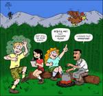 Bad Influences - Campfire Cartoon