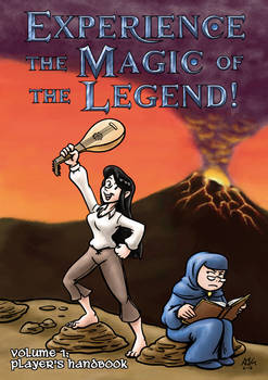 Experience the Magic of the Legend! #1 - Cover
