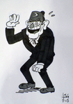 Sketch card - Laughing Grunkle