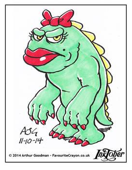 Inktober '14 - True Monster