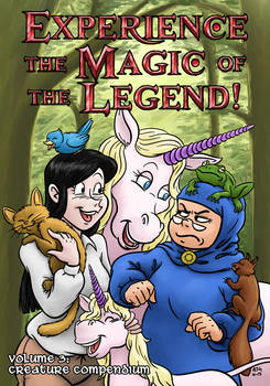 Experience the Magic of the Legend! #3 - Cover