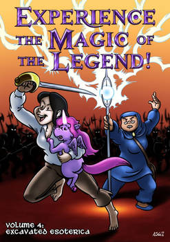 Experience the Magic of the Legend! #4 - Cover