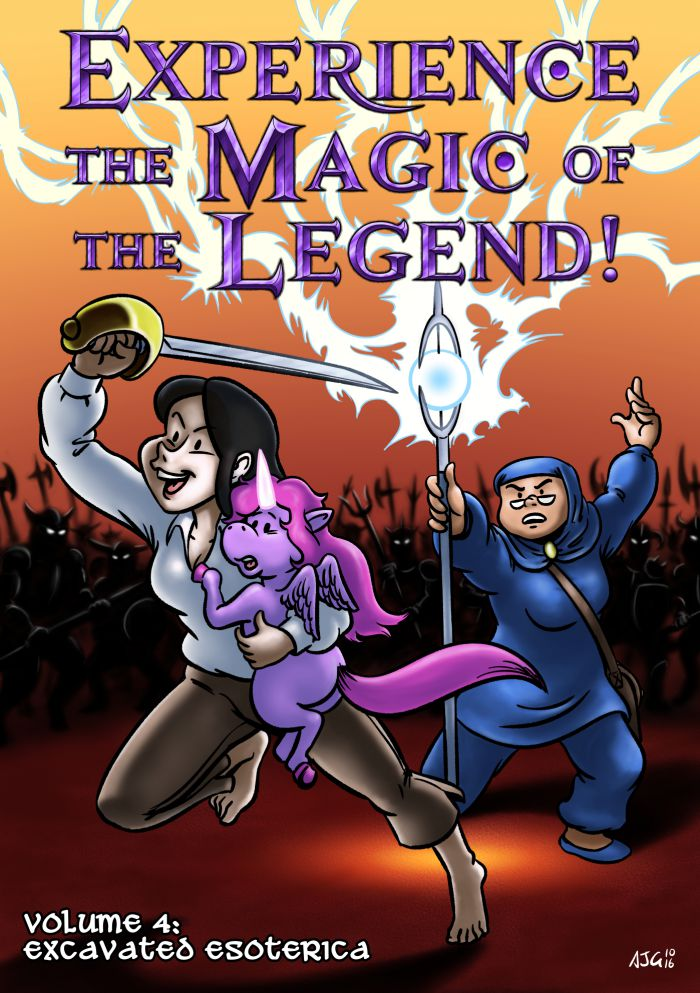 Experience the Magic of the Legend! #4 - Cover by FavouriteCrayon