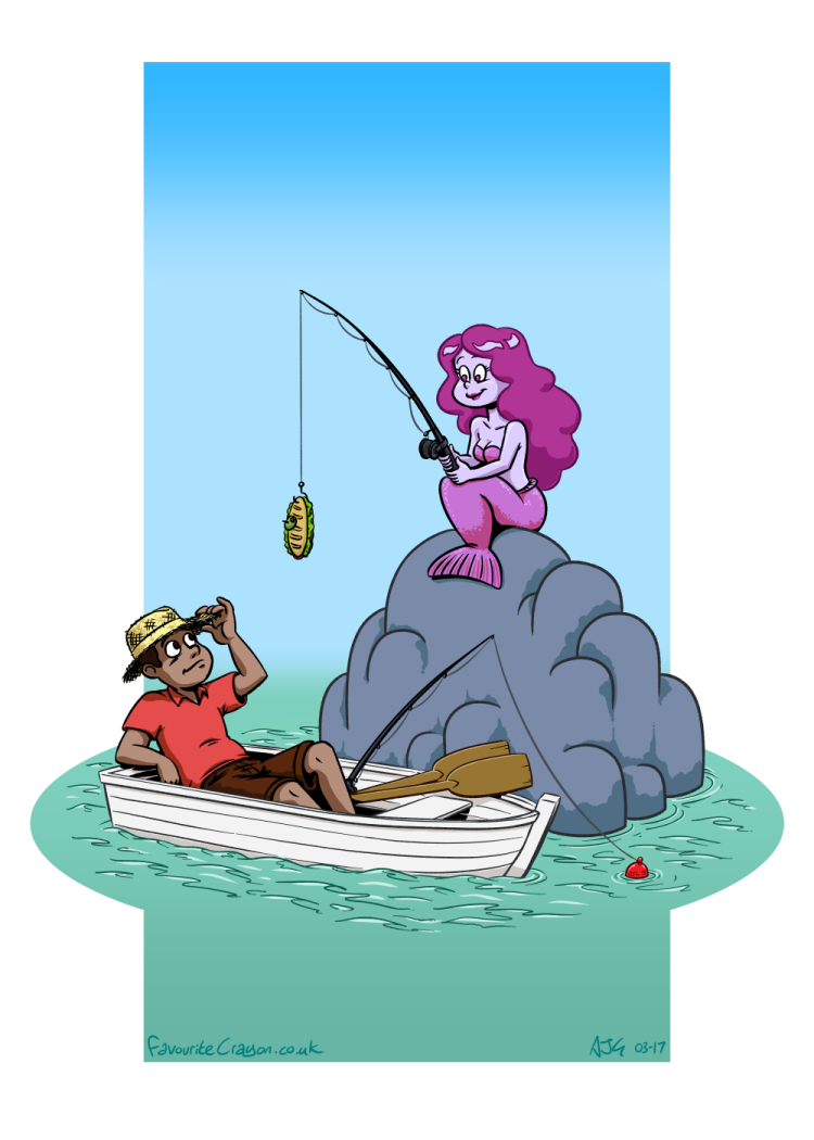 Gone Fishing by FavouriteCrayon