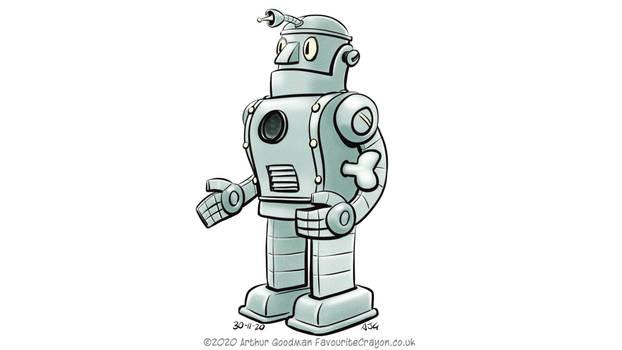 Robotober 2020 30 - Dr Kahl's Robot