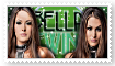 Bella Twins Stamp by XTime2ShineX