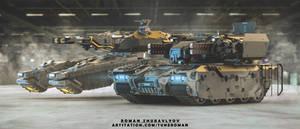 Hover tank ,TRON-zprk