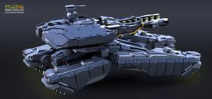 Hover Tank PLASMA-1