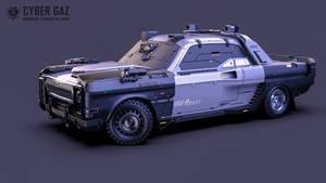 Cyberpunk Volga M.24/2077 (Cyber GAZ)