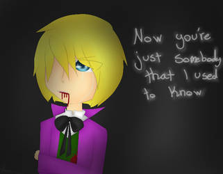 Alois Somebody that i used to know by Ama-Foxy