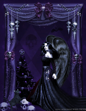 Gothic Angels Celebration by darkclub