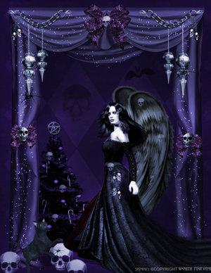 Gothic Angels Celebration by darkclub