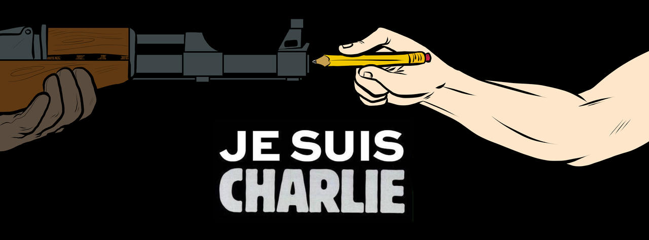 #JeSuisCharlie by achaziel