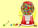 Happy Gumball Machine by iSpaz247