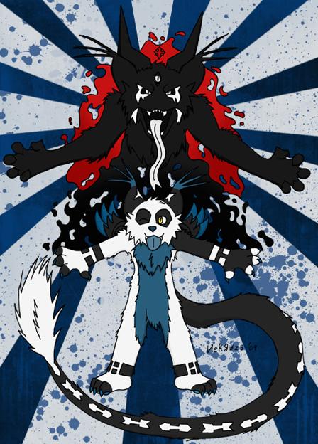 anime wolf demon. Species: Wolf-Dragon-Demon