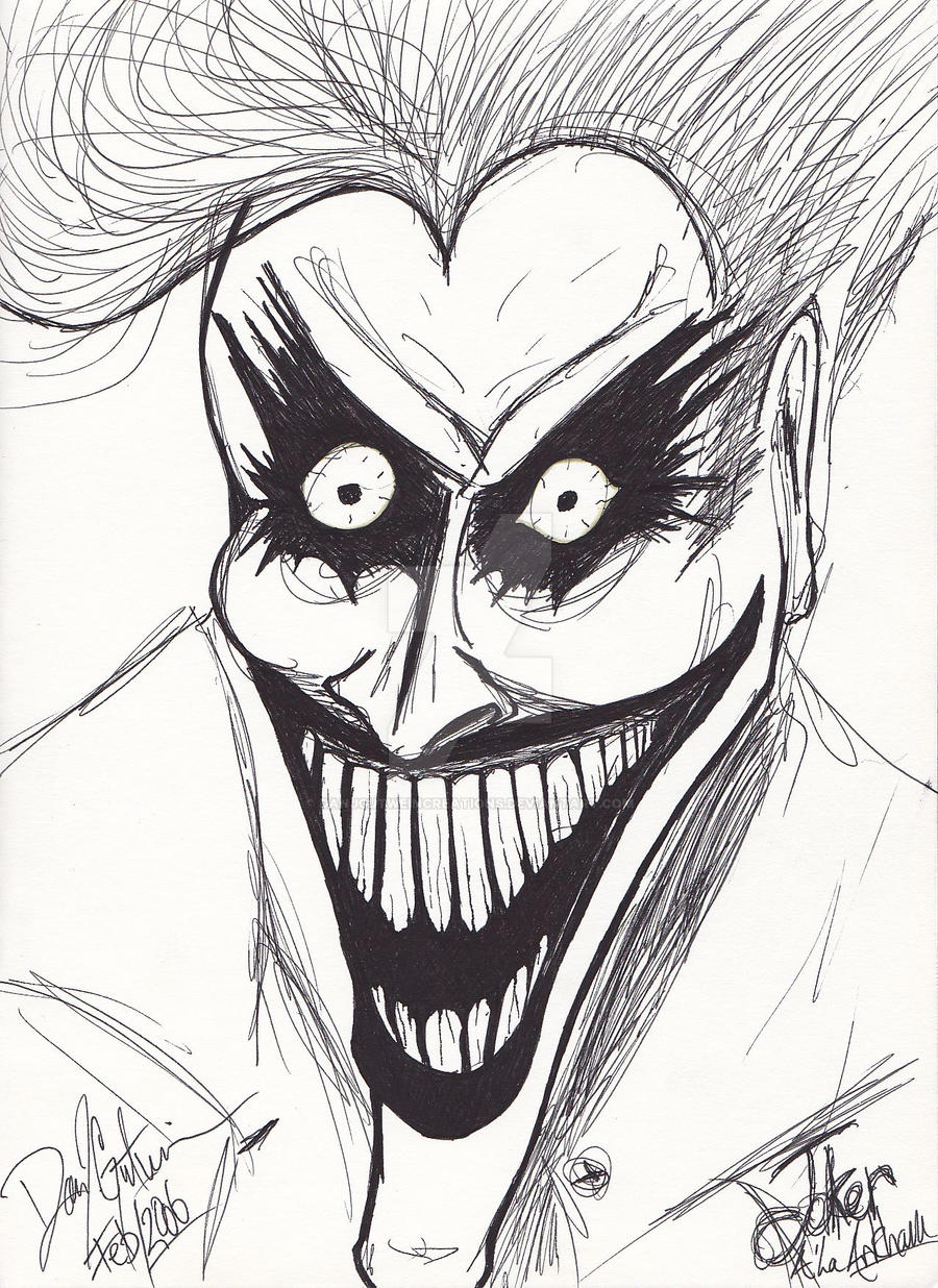 Arkham Asylum Joker by Dan J. Gutwein by danjgutweincreations