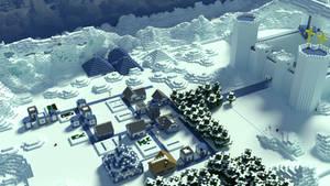 Minecraft Survival Games Arena 1. *Remake*
